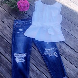 KATE SPADE & JOE'S JEANS Outfit
